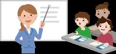入国前・入国後、日本語や習慣に関する約2~6カ月間の講習の実施